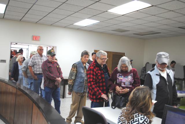 Dekalb County Residents Voting